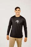Merino Kiwi Long Sleeve Mens T-Shirt - Kapeka NZ