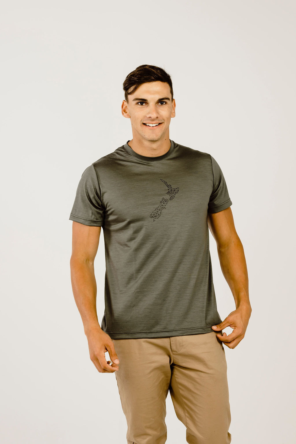 Merino NZ Short Sleeve T-Shirt - Kapeka