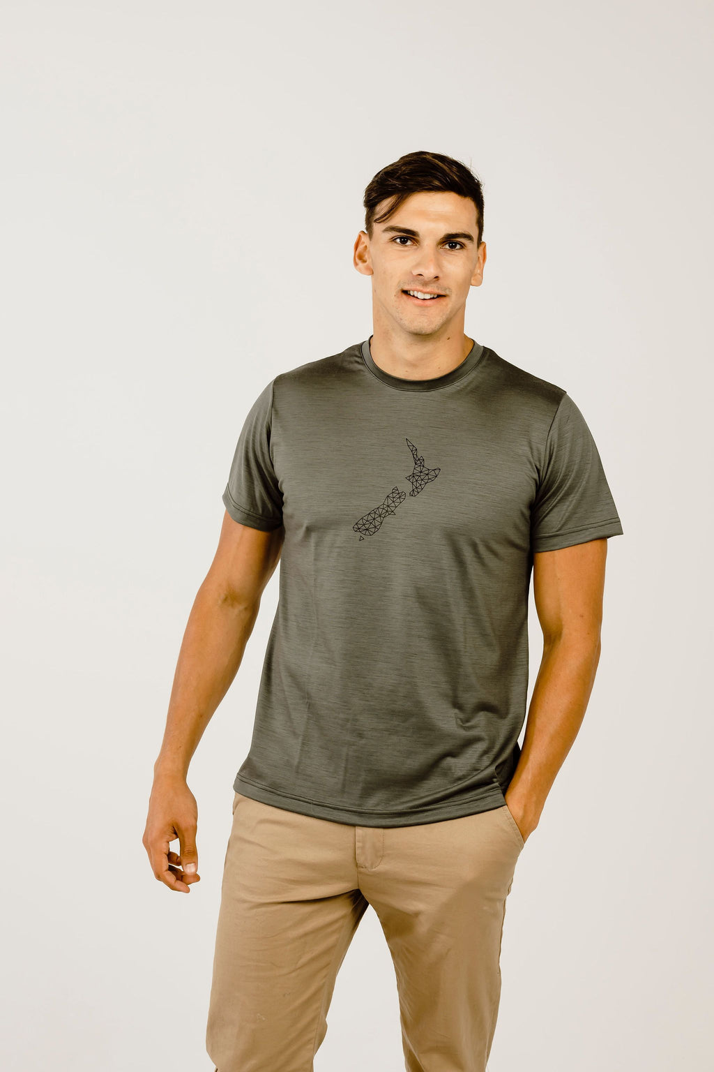 Merino NZ Short Sleeve T-Shirt - Kapeka NZ