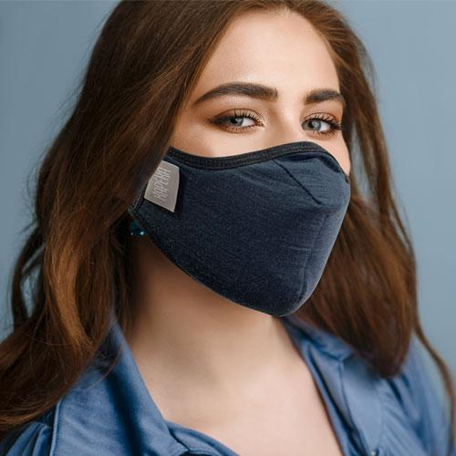 Travel Mask - Kapeka. Comfortable to wear for long periods. 100% New Zealand Merino Wool. Made In New Zealand
