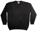 Merinosilk V Neck Sweater - Kapeka NZ