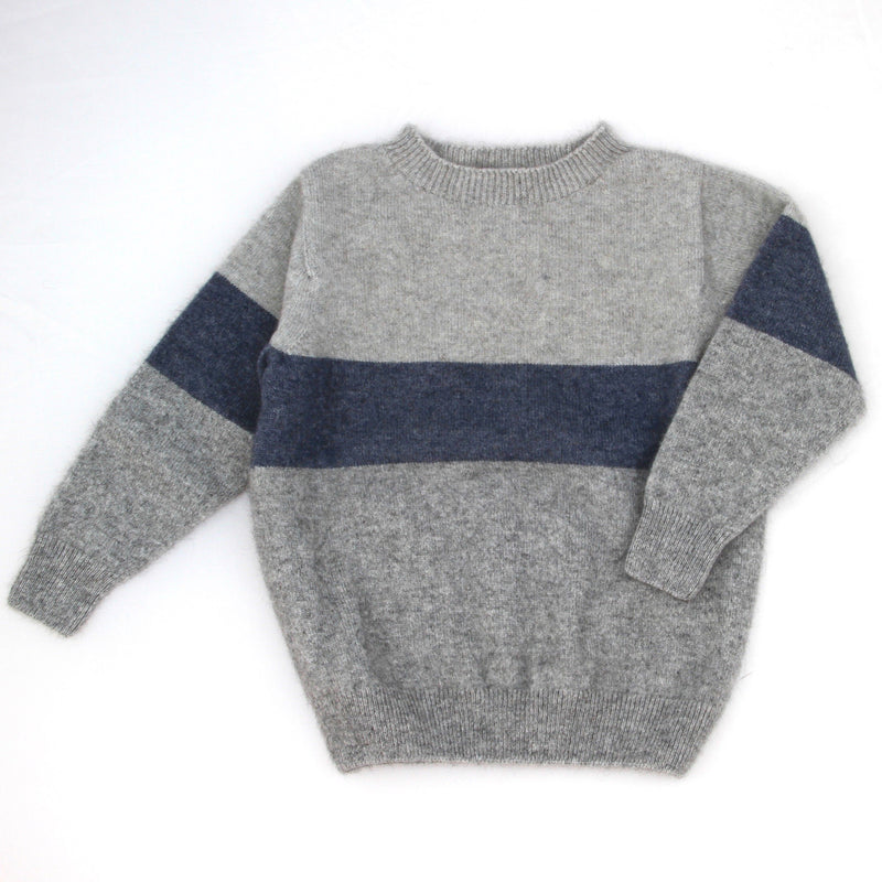 Blue Merino Possum kids Sweater