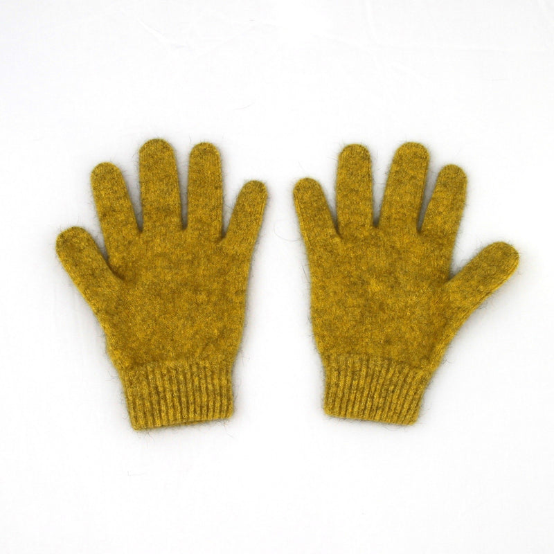 Merinosilk Gloves - Gold Possum Merino - Kapeka