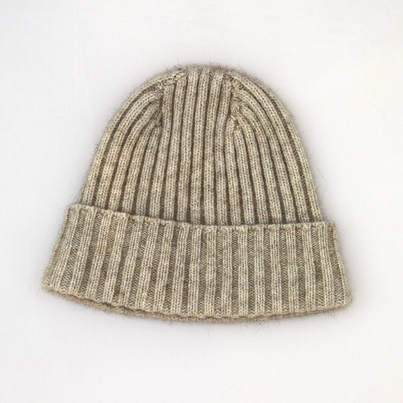 Natural Merino Possum Beanie - Kapeka NZ