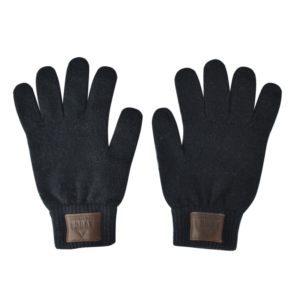 Leather Patch Gloves - Kapeka