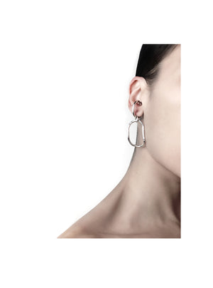 Ego double Ring & Ear cuff