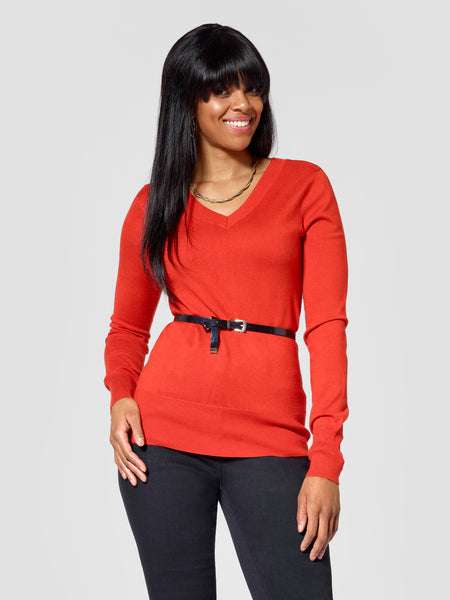 Tall V-Neck Sweater TallMoi