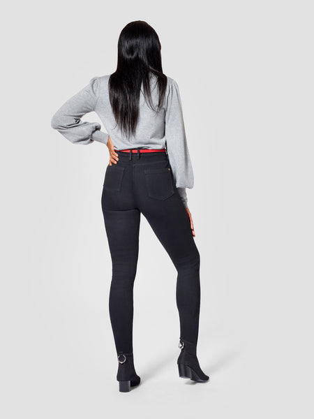 Tall Skinny Jeans Backview TallMoi
