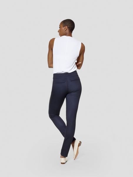Tall ReverseMoi Brooke Blue/Black Reversible Slim Pant