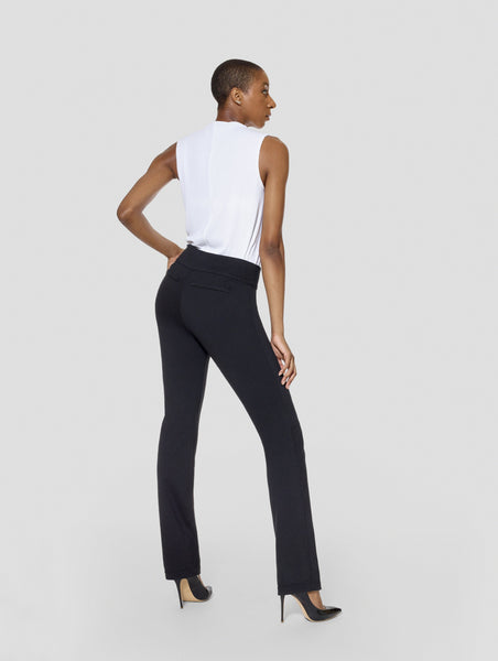 Tall Kimora Buffalo/Black Reversible Straight Pant sideview
