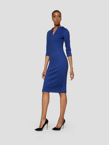 Tall Geena Blue/Black Reversible Dress