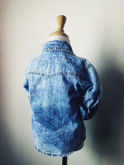 Little Boys Denim Shirt