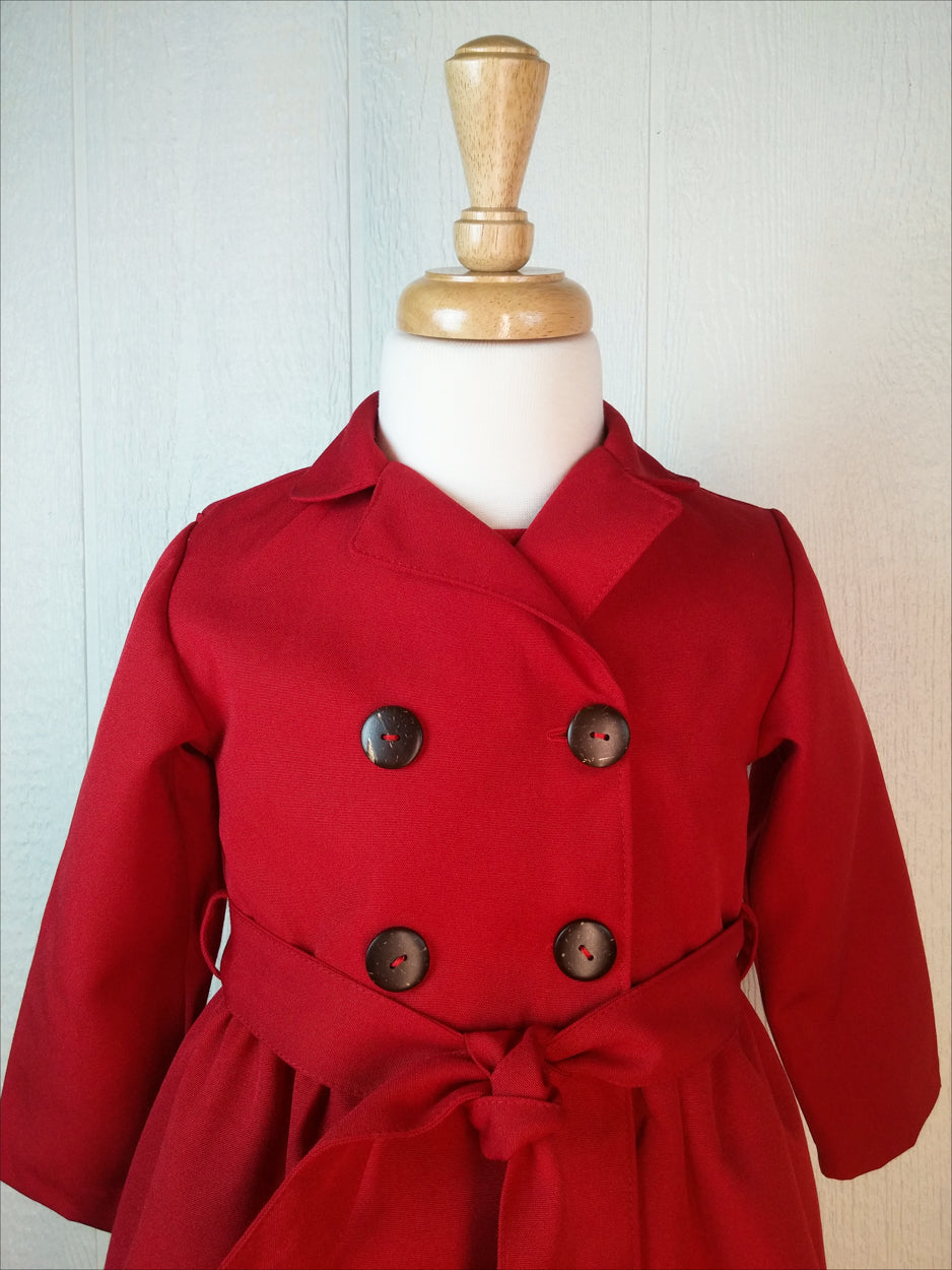 Little Girls Trench Coat