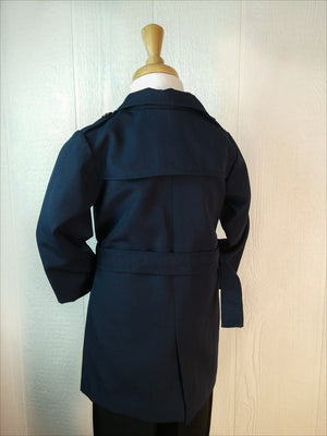 Boys Navy BlueTrench Coat