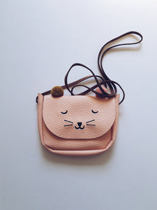 Kids Kitty Cat Shoulder Bag