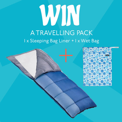 January Competition Waterproof Sleeping Bag Liner and Wet Bag