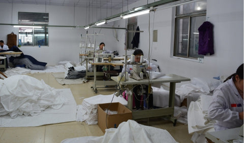 Brolly Sheets Chinese Factory - spacious and well lite