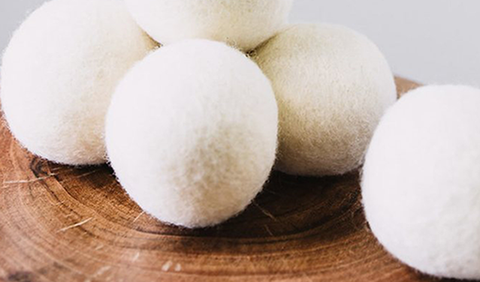 Dryer Balls from Brolly Sheets
