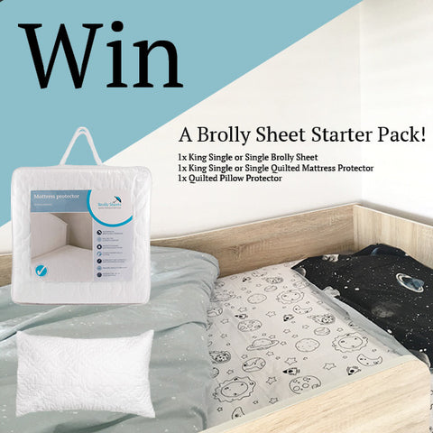 Win A Brolly Sheets Starter Pack