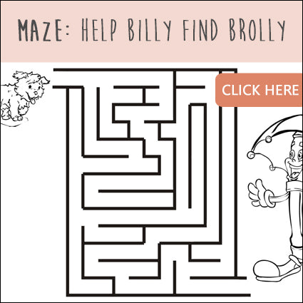 Maze: Help Billy Find Brolly