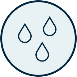 icon for waterproof technology
