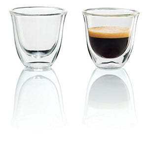Double Walled Thermo Espresso Glasses, Set of 2 - Gulf Coast Coffees