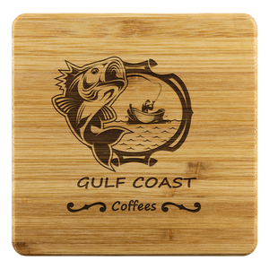 Bamboo Coaster - Gulf Coast Coffees