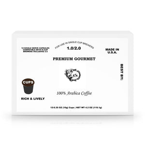 12 Pack Single Serve Coffee Capsules - Gulf Coast Coffees