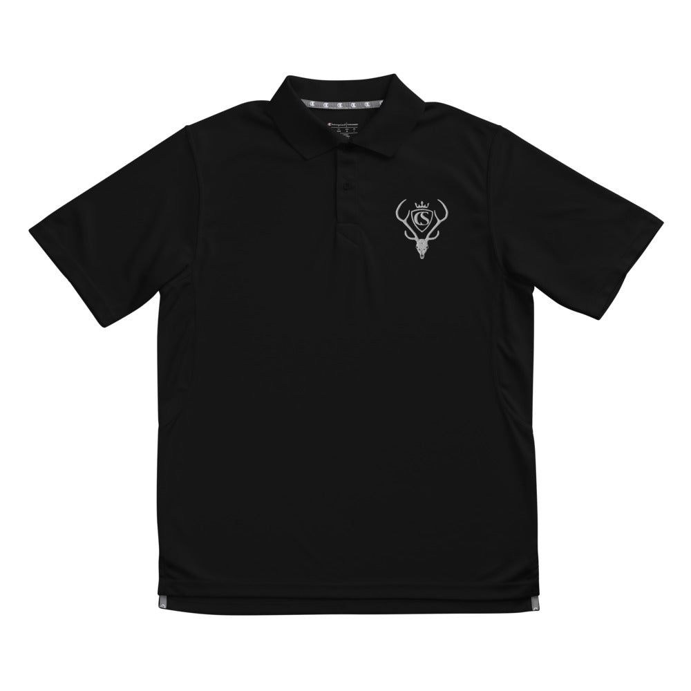 Men's Chasing Spots performance polo - Gulf Coast Coffees