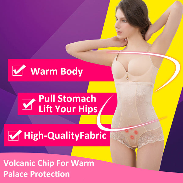 🔥Spanx Magnetic Therapy Butt Lift Briefs Uterus Warming High Waist🌟🌟