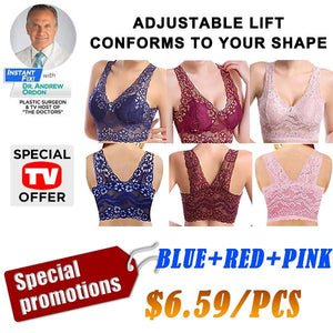 6518ec3f3 *2019 Hot Selling TV Products* Extra-elastic Air Permeable Lace Bra  Promotion (