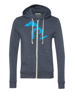 Lakes Triblend UNISEX Zip Up