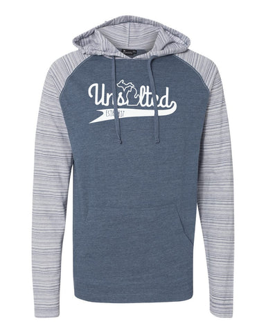 Unsalted Light Weight Raglan Hoodie