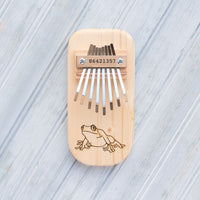 Frog Engraved Thumb Piano