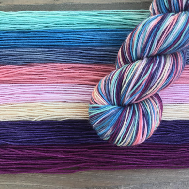 Coral Reef Self-Striping Sock Yarn