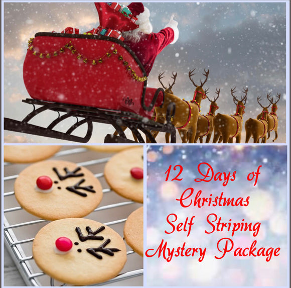 12 Days of Christmas Self Striping Mystery Package
