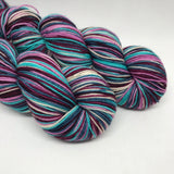 Berry Smoothie Self Striping Sock Yarn