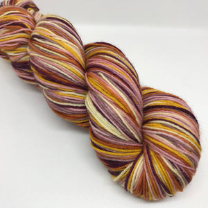 Straw Flowers Self-Striping Sock Yarn