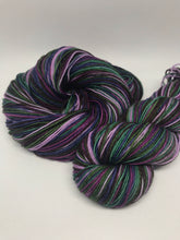 Load image into Gallery viewer, Enchanted Nights Self Striping Sock Yarn