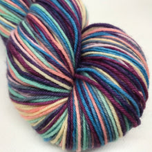 Load image into Gallery viewer, Coral Reef Self Striping Sock Yarn