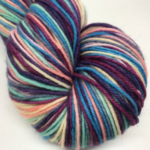 Coral Reef Self Striping Sock Yarn