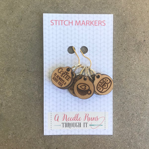 Coffee Stitch Markers