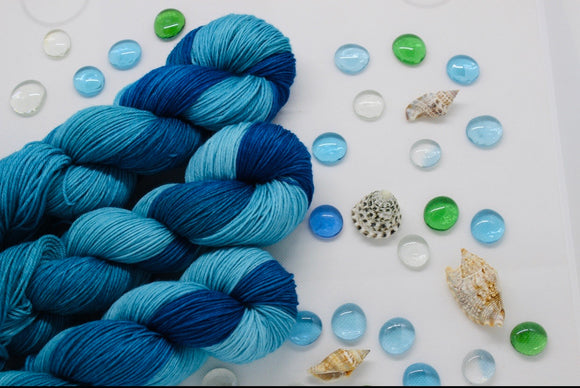 Deep Sea Oasis  2020 color of the year Kettle Dyed