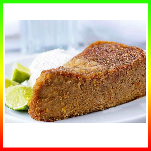 Pudd'n (Patois)    Pudding (English)