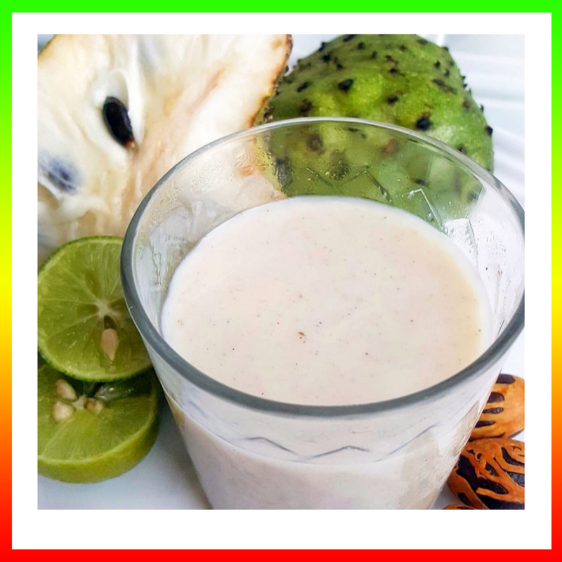 Suh-wa-sap (Patois)    Soursop (English)