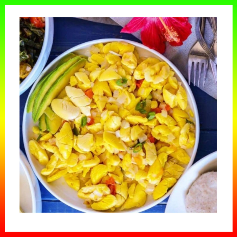 Acki (Patois)    Ackee (English)
