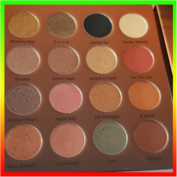 Pickney Days Palette