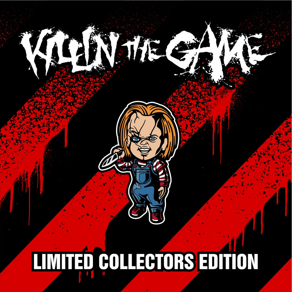 "Chucky Killin' the Game Soft Enamel Pin (1.5"" inch)"