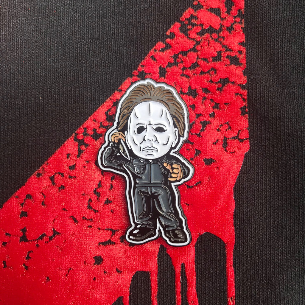 "Michael Myers Killin' the Game Soft Enamel Pin (1.5"" inch)"