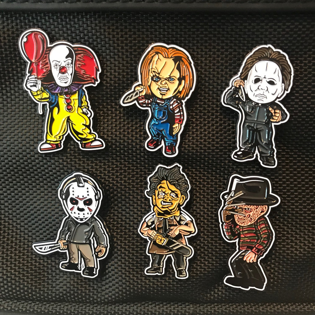 "Complete Killin' the Game Soft Enamel Pin Set (1.5"" inch) With FREE LANYARD"